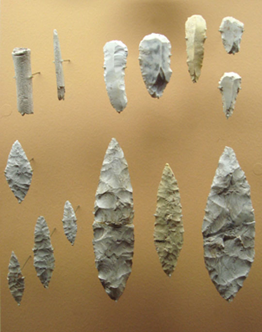 Solutrean tools, 22,000 – 17,000 BC. (World Imaging / CC BY-SA 3.0)