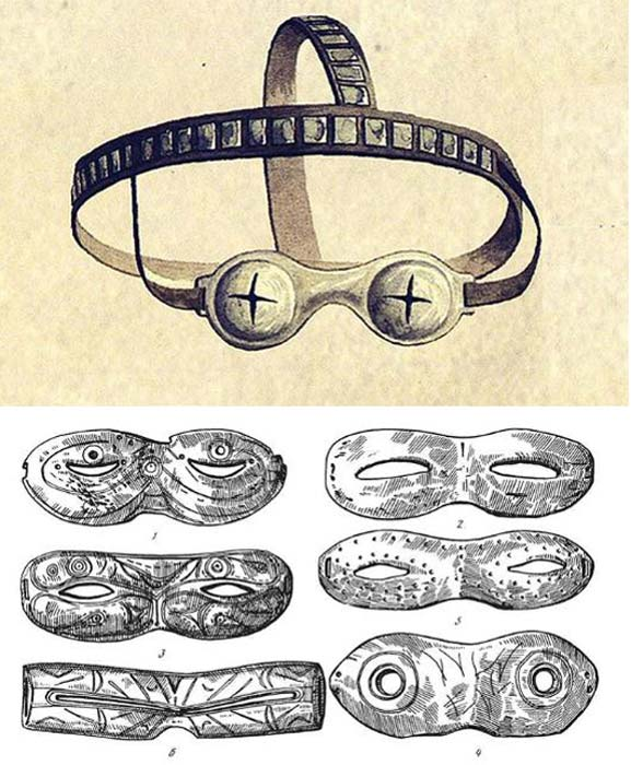 Some were decorated with carvings and some were not. Examples are shown here in these drawings. Pictures: YakutCostume, The Siberian Times