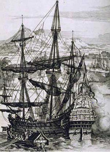 A Spanish Galleon (Wikimedia Commons)