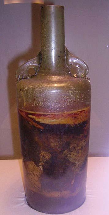 The Speyer wine bottle.