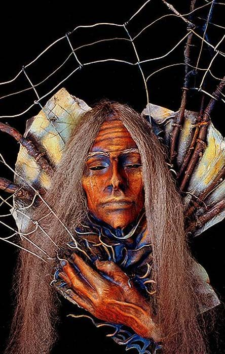 Grandmother Spider or Spider Woman of Native American lore.