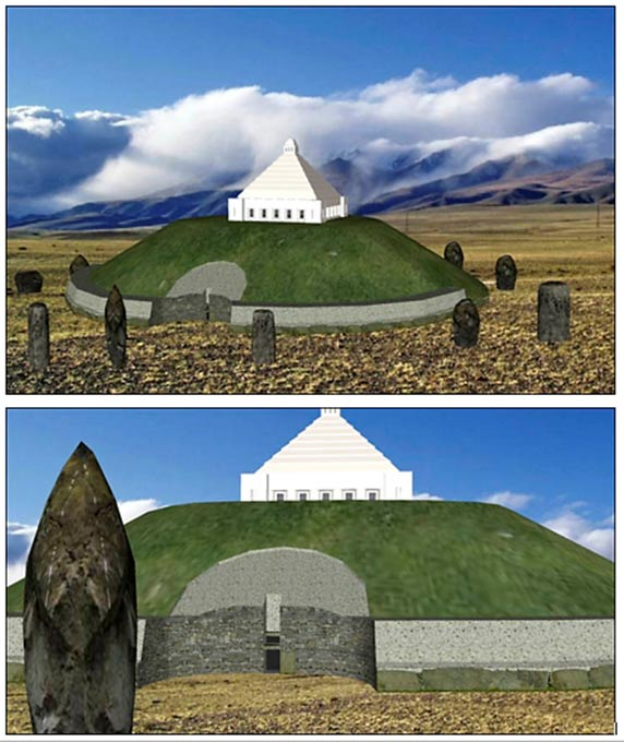 If the reburial will be approved, it is planned to build a monument on the Ukok Plateau.