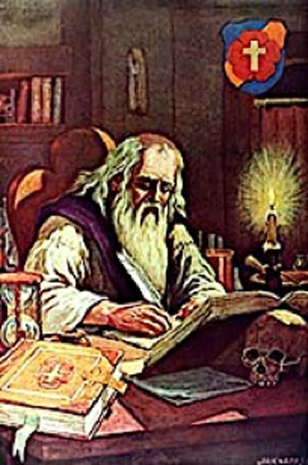 Spiritualists such as the Rosicrucian Order are based on Christianity. (Terraflorin / Public Domain)