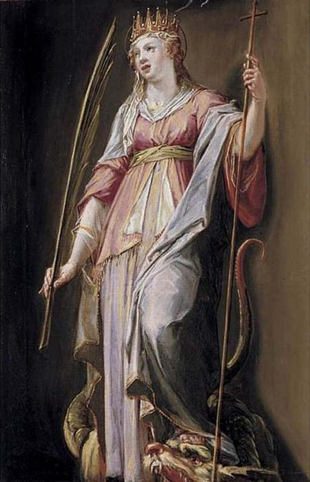St. Margaret of Antioch by Peter Candid, 16th Century.