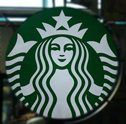 The Starbucks Logo: Melusine and her two tails; Deriv