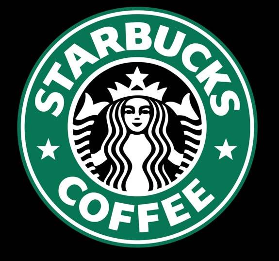 Starbucks logo. (