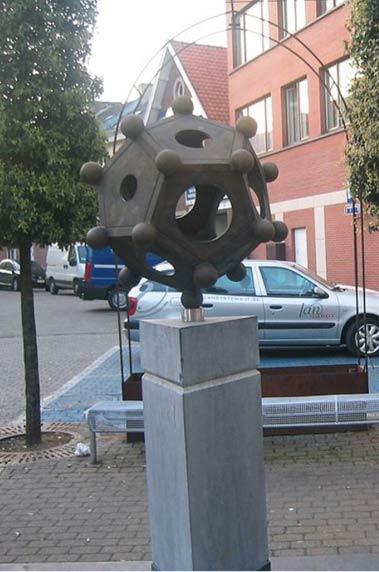 Statue 'Dodecaëder' in Tongeren