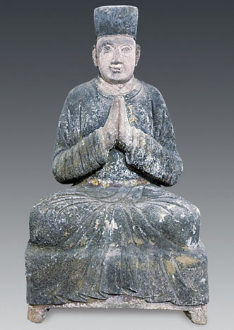 Statue found inside the tomb