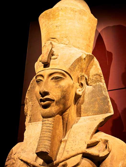 Statue of Akhenaten, Father of Tutankhamun