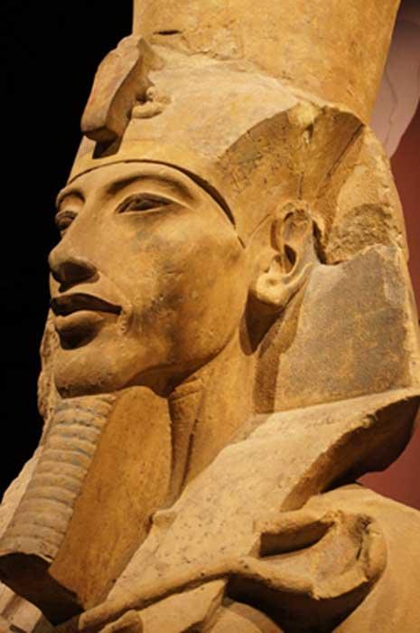 Statue of Amenhotep IV (Akhenaten)