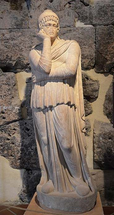 Statue of Attis, 2nd half of 2nd century AD, Hierapolis Archaeology Museum, Turkey.