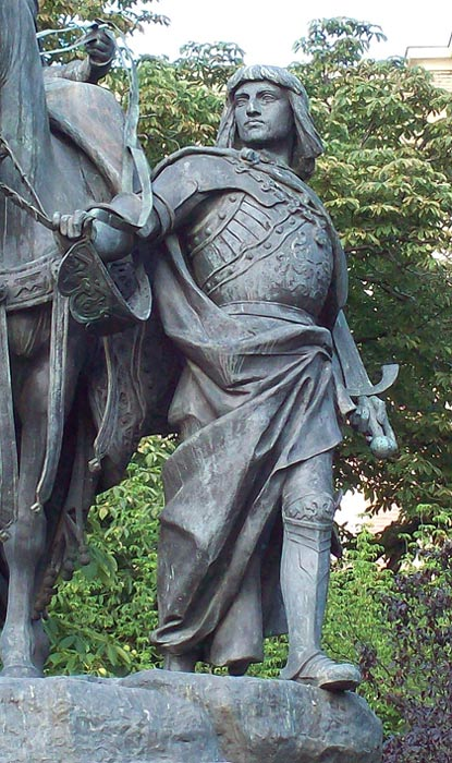 Statue of Gonzalo de Córdoba in Madrid.