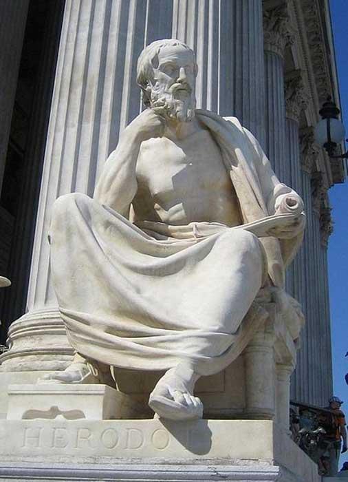 Statue of Herodotus