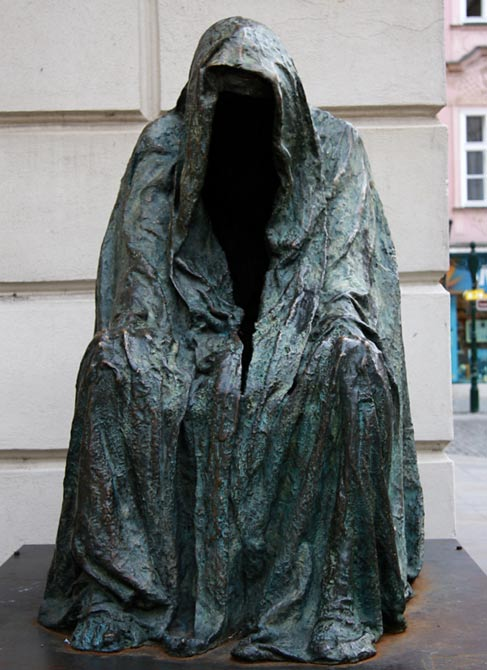 Statue of Il Separatio, Prague
