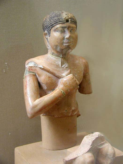 Statue of Neferefre. Abusir. JE 98171, 34 cm. Cairo Egyptian Museum