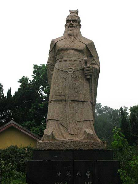 Statue of Sun Quan, founding emperor of the state of Eastern Wu during the Three Kingdoms period of China. (Dhugal Fletcher/CC BY SA 2.0)