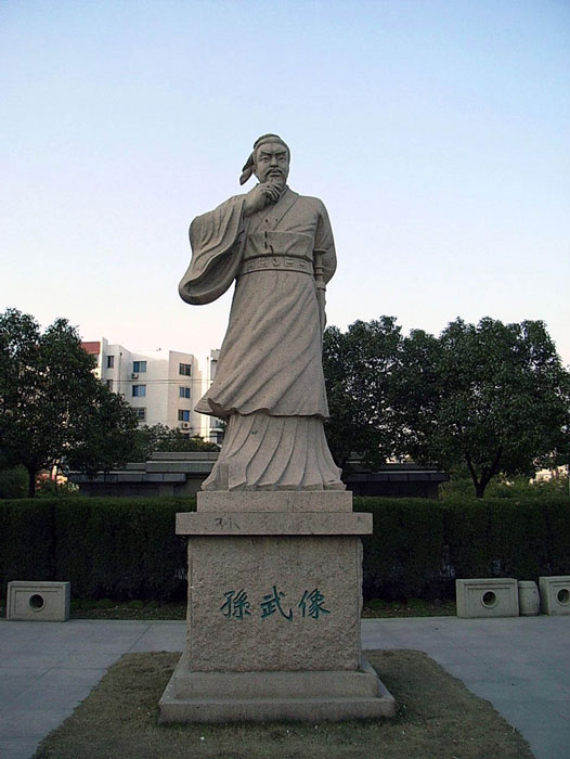 Statue of Sun Tzu in Suzhou, Jiangsu, China. (kanegon/CC BY 2.0)