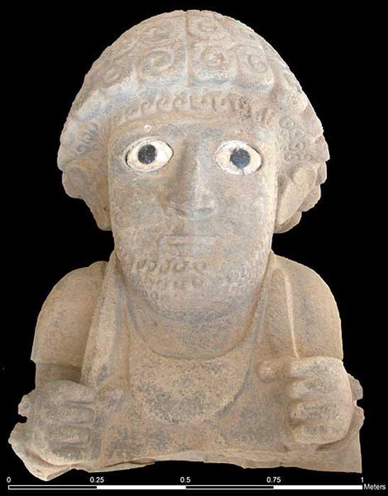 Statue of Suppiluliuma II from Tell Tayinat