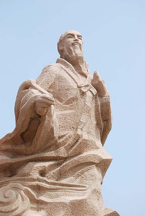 Statue of Xu Fu in in Weihai, Shandong. (Fanghong/CC BY SA 3.0)
