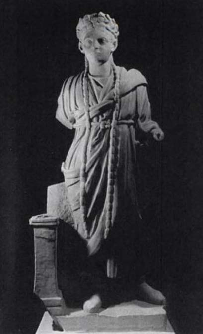 Statue of an Archigallus (high priest of Cybele) 2nd-3rd century AD (Archaeological Museum of Cherchell). (Public Domain)