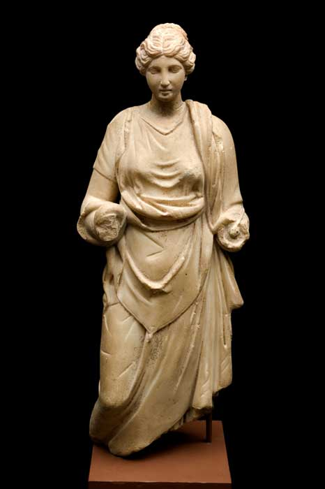 Statue of the Goddess Hygieia