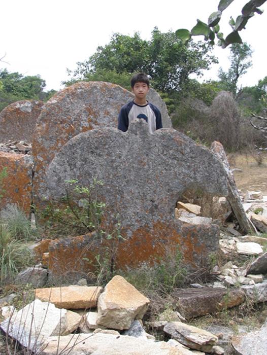 Stone megaliths, India