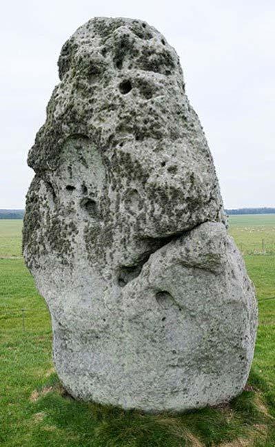 Stonehenge Heel Stone. (CC BY SA 4.0)