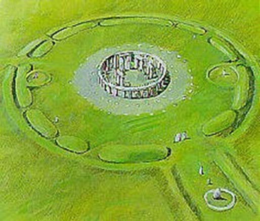 Stonehenge is built in the shape of a lingam.