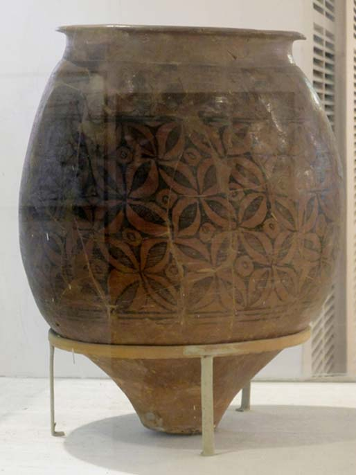 Storage jar. C. 2700-2000 BC. Chanhudaro. Pakistan. Indus Civilization. National Museum, New Delhi