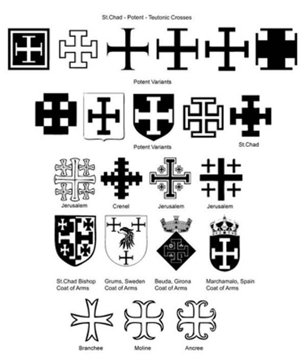 Stylized cross-potents