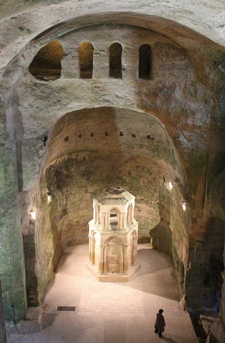 The Subterranean church of Saint-Jean