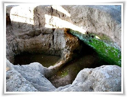 Subterranean dwelling pit