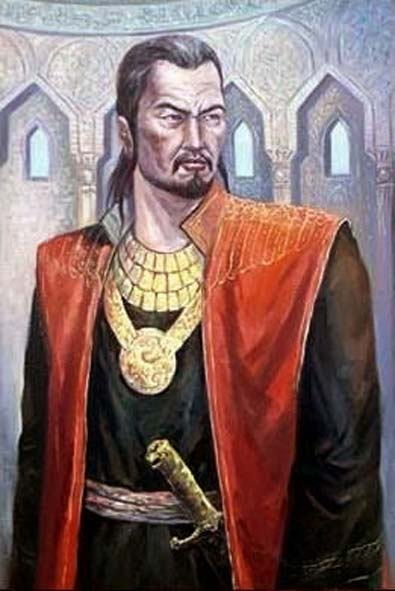 Modern representation of Sultan Baibars.