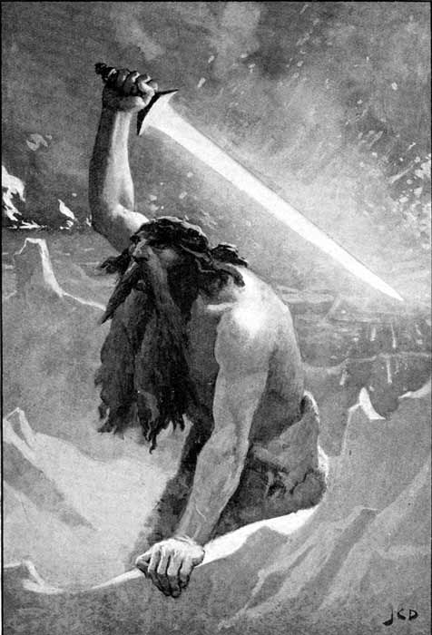 Iceland's Surtshellir cave, named after the Viking fire giant Surtr, was the site of satanic Viking rituals according to the latest research paper published in the Journal of Archaeological Science. (John Charles Dollman / Public domain)