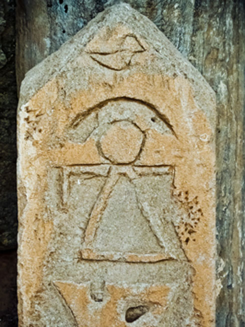 Symbol of Tanit, the consort to the king of the Punic pantheon. (mrholle / CC BY-SA 2.0)