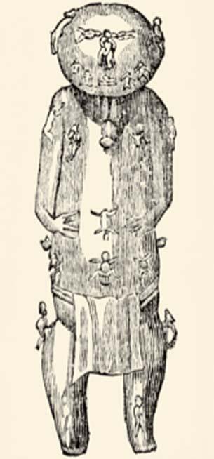 Ta'aroa, the supreme deity of Polynesia, creator of the world. (Hic et nunc / Public Domain)