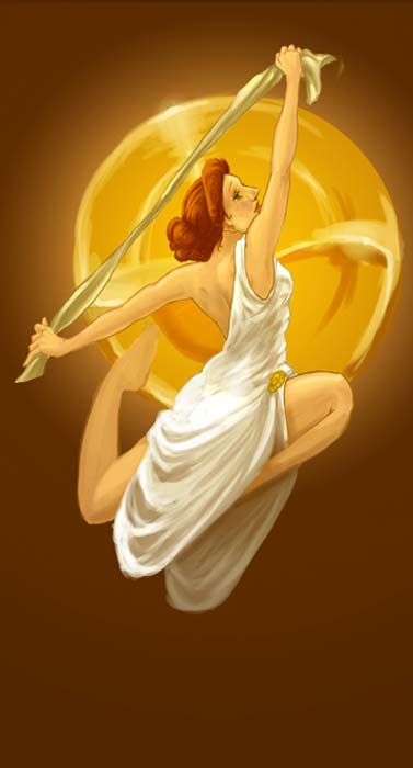 Terpsichore – Muse of Dancing. (thermalknight/Deviant Art)