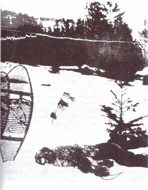 The 1894 photo of bigfoot. (Author provided)