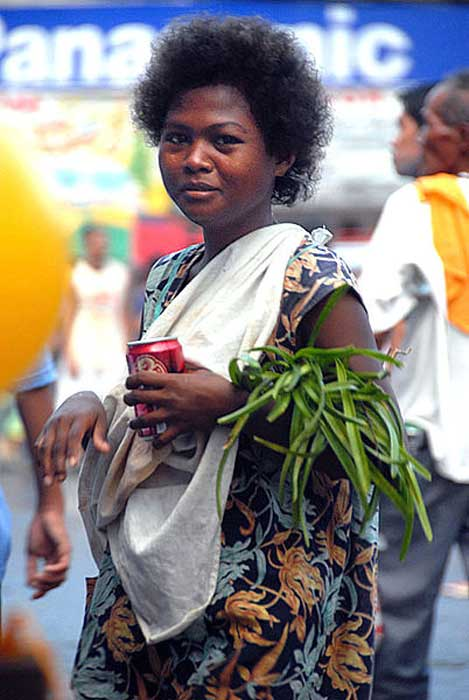 The Aeta (Ati) is one of the native peoples of the Philippines. An Ati (Aeta) woman from the hinterlands of Panay Island in the Philippines. (Ken Ilio/CC BY 2.0)