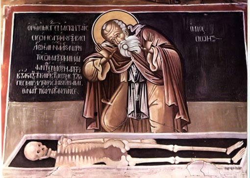 The Astonishment of Saint Sisoes