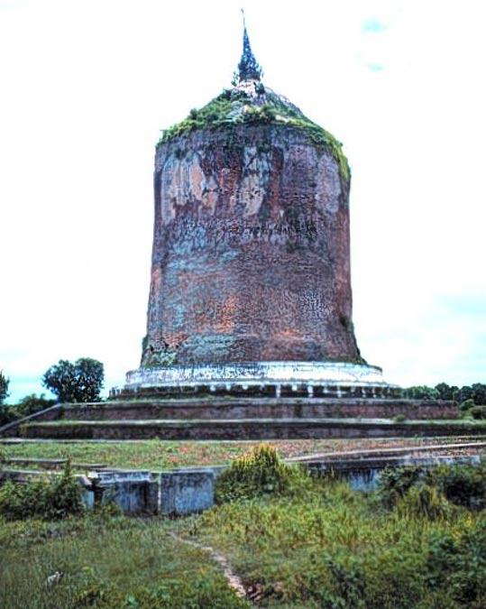 he Bawbawgyi stupa, Sri Ksetra, Myanmar/Burma.
