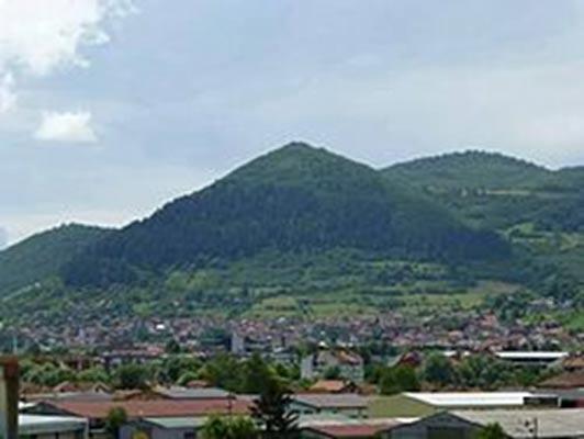 The Bosnian Sun pyramid. Author provided.