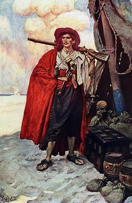 'The Buccaneer was a Picturesque Fellow.'