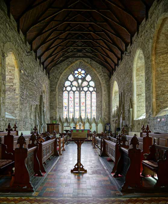 The Chancel, inside St Mary's Collegiate Church. Credit: Ioannis Syrigos