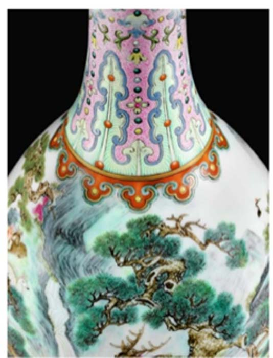 The Chinese vase that sold for $19 million (Sotheby's)