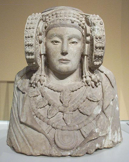 The Dama de Elche bust