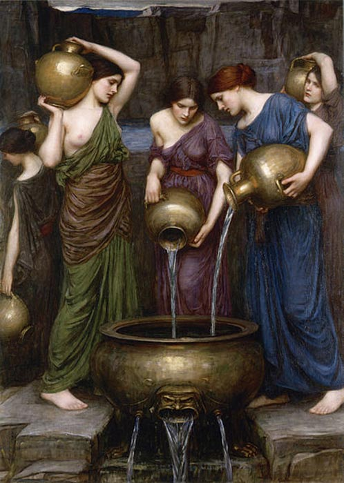 'The Danaides' (1903) by John William Waterhouse.