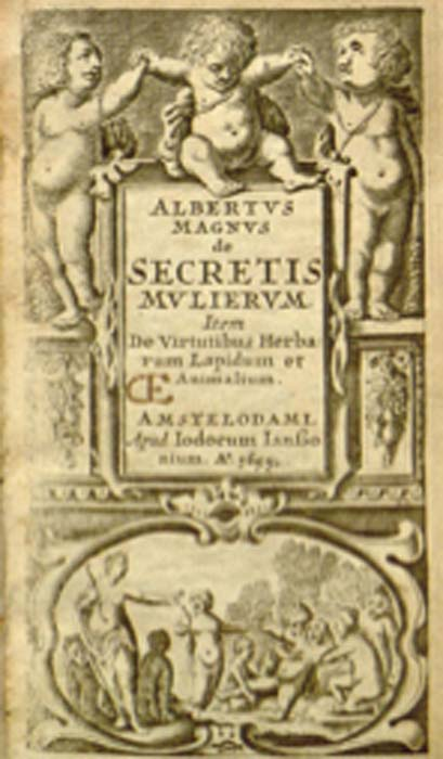 The De Secretis Mulierum was a manual designed to identify a woman's virginity through her demeanor. (Fæ / Public Domain)