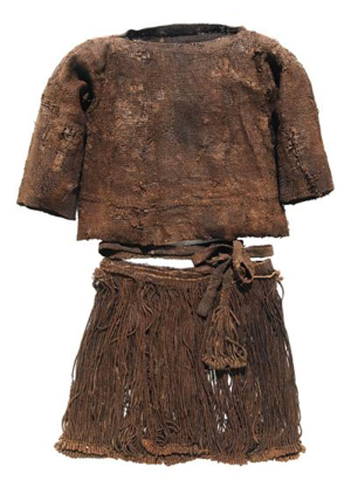 The Egtved girl's clothing. (National Museum of Denmark)
