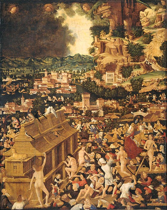 The Great Flood. (c. 1450-1499)